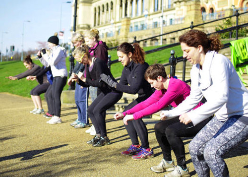 Boot Camp Workout Classes in Alexandra Palace Squats